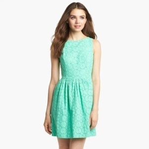 Teal Embroidered Kensie Dress